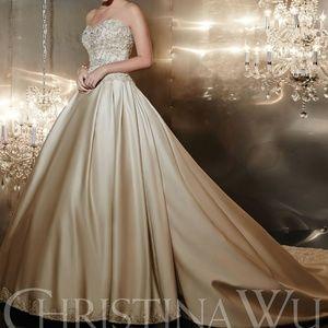 Christina Wu Wedding Gown